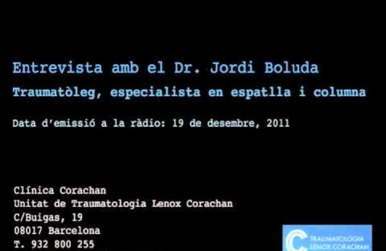 Entrevista al Dr. Boluda