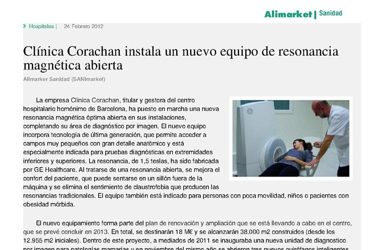 Alimarket 87636 corachan resonancia