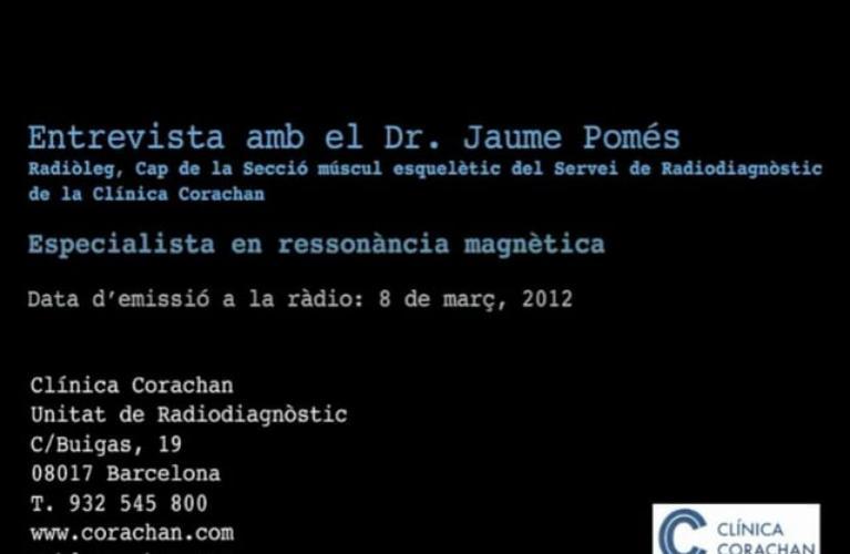 Entrevista al Dr. Pomés
