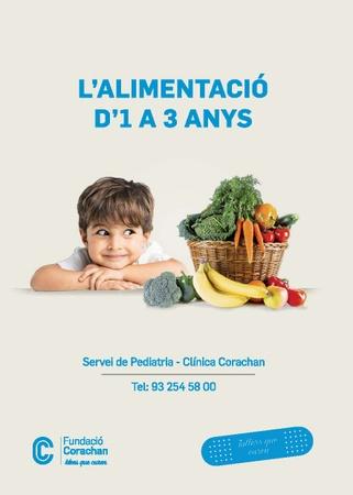 L'alimentació d'1 a 3 anys