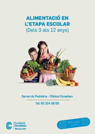 Alimentació en l'etapa escolar (3-12 anys)