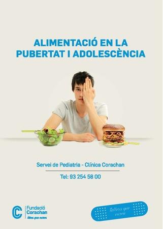Alimentació en la pubertat i adolescència