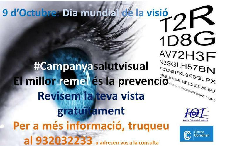 Cartel Dia Mundial de la Vision IOI 2014