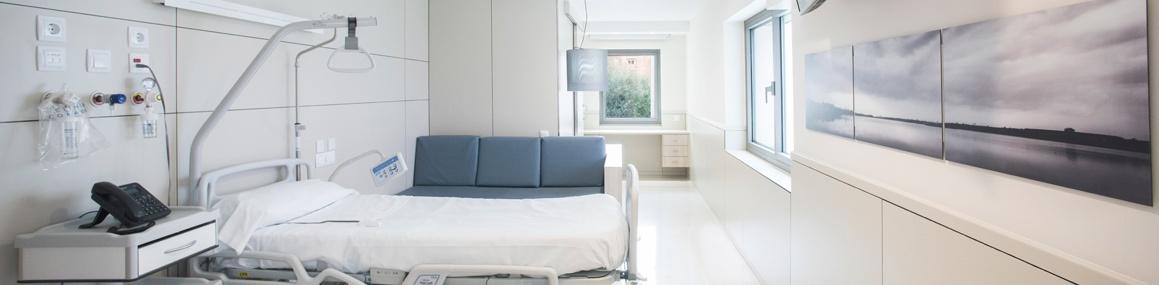 Habitación Clínica Corachan Barcelona