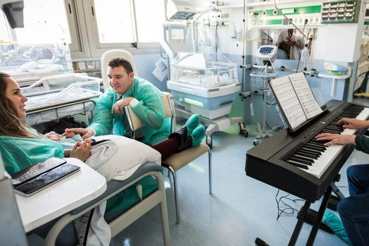 Musicoterapia para neonatos