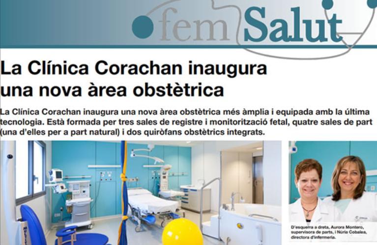 Clínica Corachan inaugura una nueva área obstétrica
