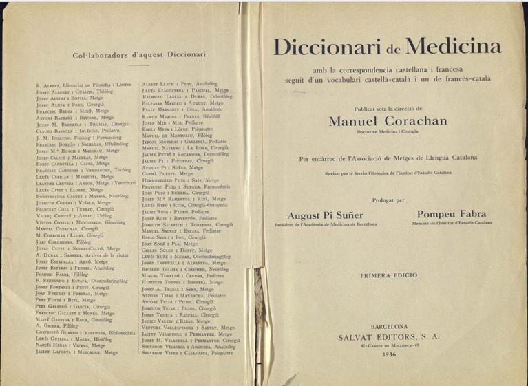 Diccionario Corachan