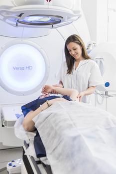 Acelerador radioterapia Corachan Barcelona