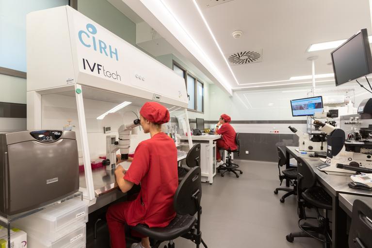 laboratorio reproducción asistida
