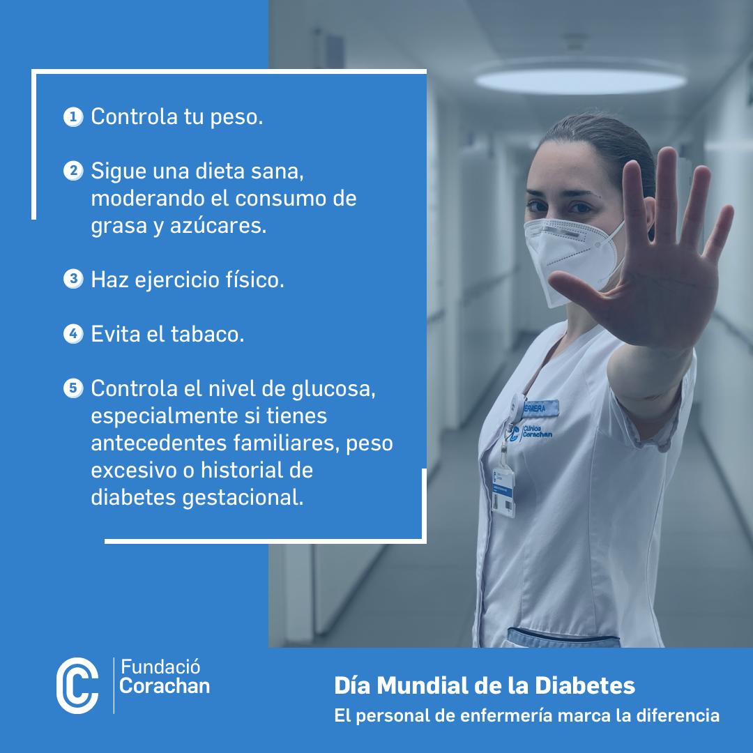 Consejos prevención diabetes
